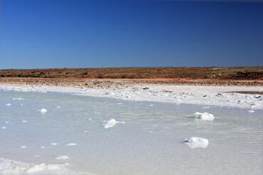 Andamooka AU, SA Salt Lakes